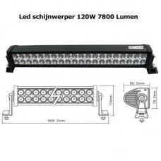 LED schijnwerper 120W 7800 Lumen
