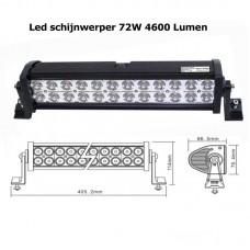 LED schijnwerper 72W 4600 Lumen