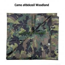 Afdekzeil camouflage Woodland