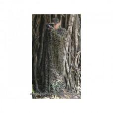 Camouflage poncho Woodland