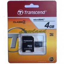 Transcend Geheugenkaart micro SDHC 4GB CLASS 4