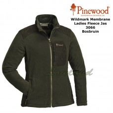 Pinewood Fleece Jas Dames Wildmark Membrane 3066