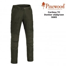 Pinewood Broek Caribou TC 5085 Donker Olijfgroen