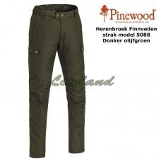 Pinewood Broek Finnveden Tighter 5088 Donker Olijfgroen