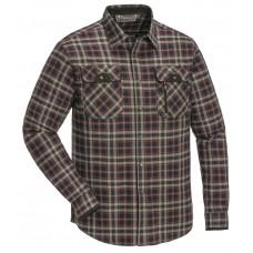 Overhemd Prestwick Exclusive 9428 Donkerblauw/Donker koper