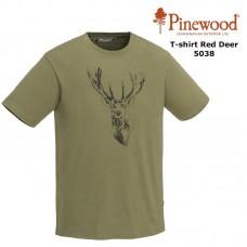 Pinewood T-Shirt Red Deer 5038