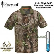 Pinewood Polo-Shirt Ramsey Coolmax 8458 Realtree APG