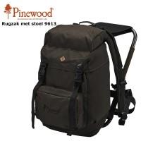 Pinewood Rugtas met kruk 35L 9613