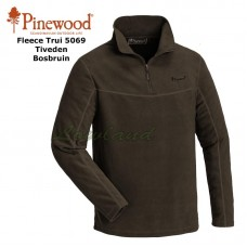 Fleece Sweater Tiveden 5069 Bosbruin