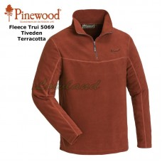 Fleece Sweater Tiveden 5069 Terracotta