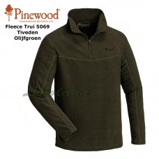 Fleece Sweater Tiveden 5069 Olijfgroen