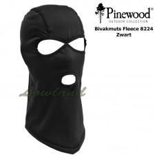 Pinewood Bivakmuts Fleece 8224 zwart