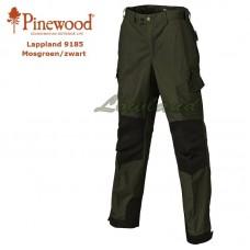 Pinewood Broek Lappland 9185 Mosgroen/Zwart