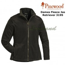 Pinewood Fleece Jas Retriever Dames 3195