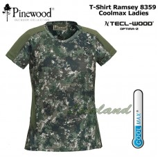 Dames T-Shirt Ramsey CoolMax® 8359 Tecl Wood Optima 2