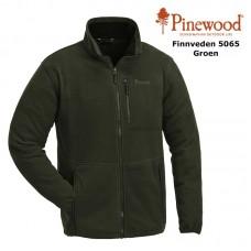 Pinewood Fleece Jas Finnveden 5065 Groen
