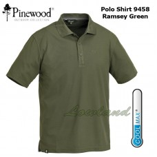 Pinewood Polo-Shirt Ramsey Coolmax 9458 Groen