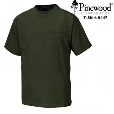 Pinewood T-Shirt 2 Pak 9447 donkergroen