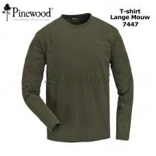 Pinewood T-Shirt Lange Mouw 2 Pak 7447 donkergroen
