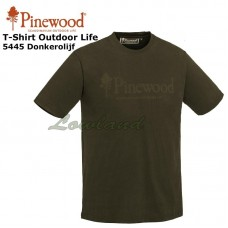 T-Shirt Outdoor Life 5445 Olijfgroen